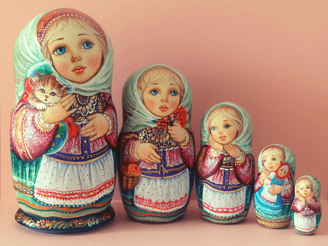 Matryoshka Collection - Russian Arts & Gifts Sacramento